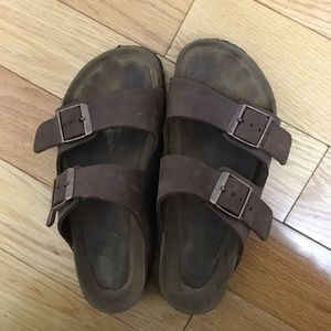 Birkenstock Brown Arizona Soft Footbed Sandals